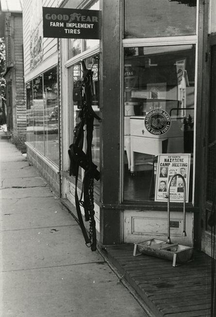 Ben Shahn, 'Store in Canal Winchester, Ohio', 1938