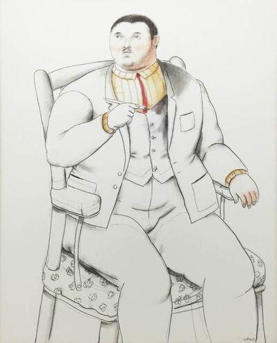 Fernando Botero, 'Seated Man ', 2013
