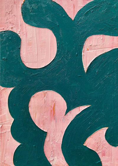 Brian Palmieri, 'pinkgreen', 2018