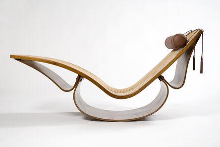 """Oscar Niemeyer, 'Rare """"Rio"""" Chaise, designed 1978', 2001"""