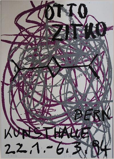 Otto Zitko, 'kunsthalle bern, 4-teilig', 1994