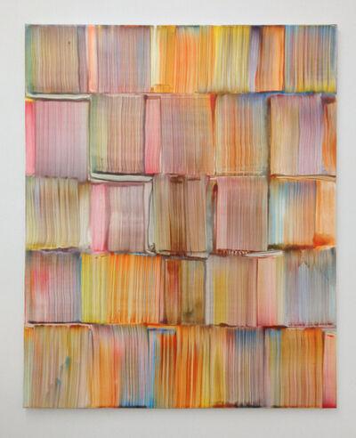 Bernard Frize, 'Ruled', 2013