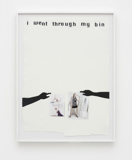 Frances Stark, 'I Went Through My Bin', 2008