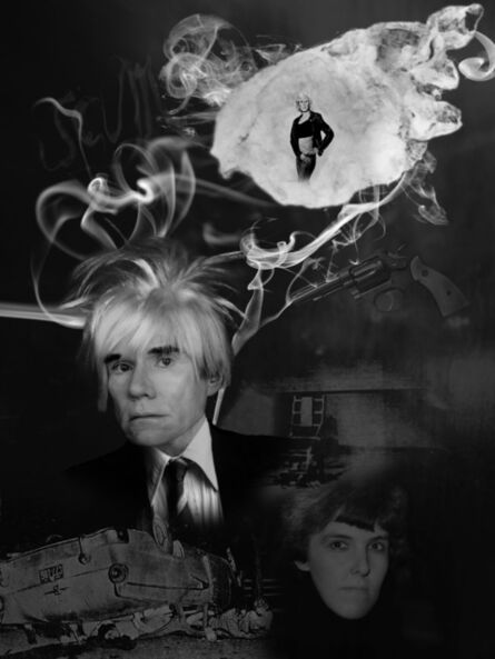 Jeffrey Vallance, 'Spirit Photo: Andy Warhol', 2012-2015