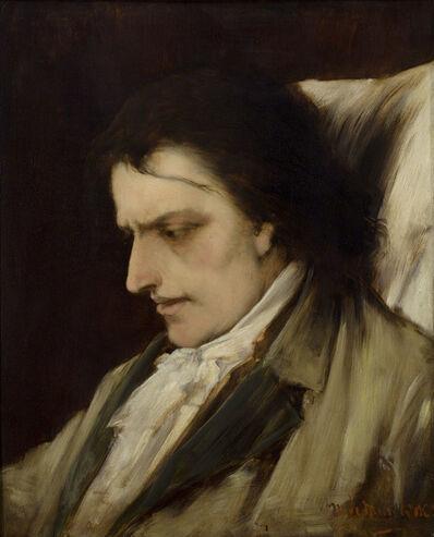Mihály Munkácsy, 'Study for the Death of Mozart', 1884