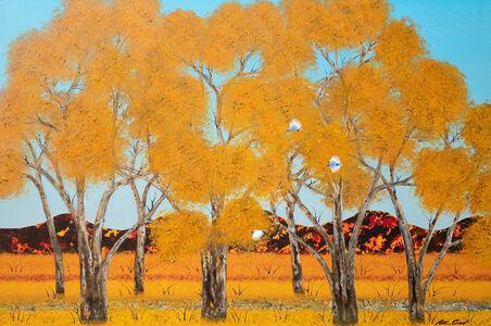 Peter Coad, 'Summer Landscape - Flinders Ranges', 2020