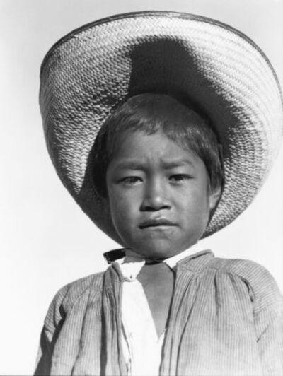 Tina Modotti, 'Niño con sombrero', ca. 1927