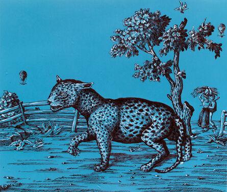 Sara Nesbitt, 'Blue Leopard', 2018