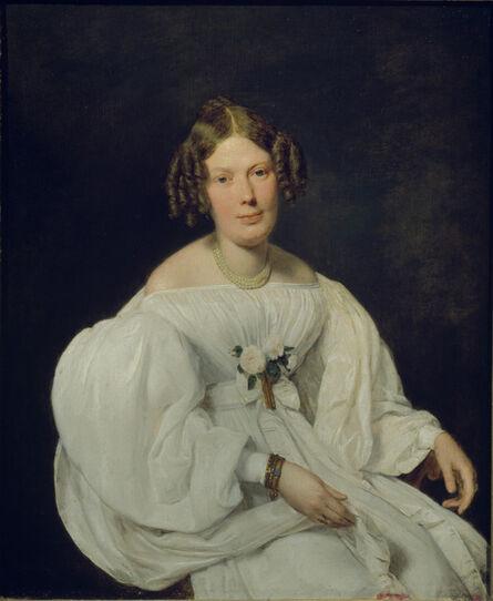 Ferdinand Georg Waldmüller, 'Portrait of Schaumberg's Wife', 1846