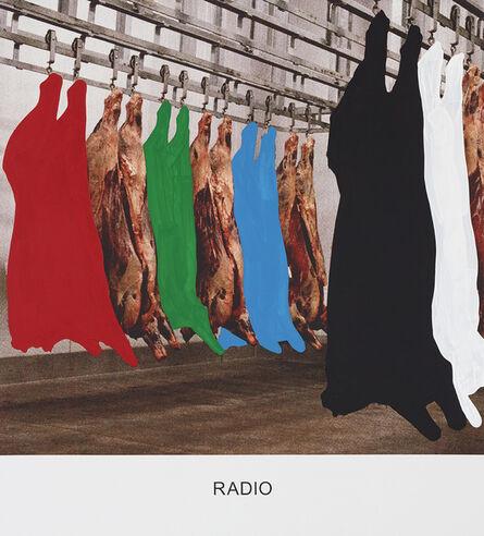 John Baldessari, 'RADIO', 2015