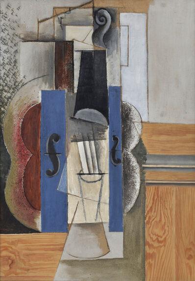 Pablo Picasso, 'Un violon accroché au mur (Le violon)', 1913