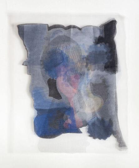 Teresa Giarcovich, 'Tres copas, dos flores y un perfil en sombra', 2017