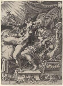 Enea Vico, 'The Loves of Mars and Venus'