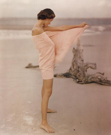 Frances McLaughlin-Gill, 'Carol McCarlson on the Beach, St. Augustine Florida', 1948