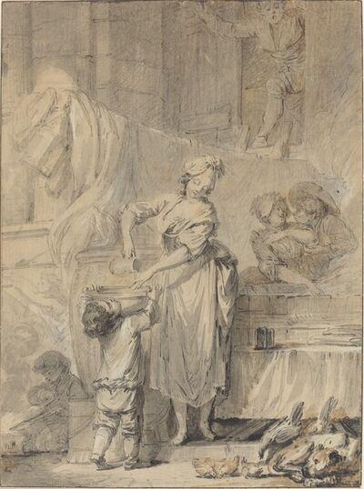 Pierre-Antoine Baudouin, 'Kindly Martine', 1760s