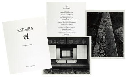 Yasuhiro Ishimoto, 'Katsura Villa Portfolio', 1989