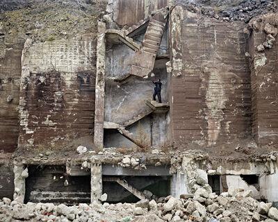 Tamas Dezso, 'Metal Scrap Collector (near Hunedoara, West Romania), 2011, Notes for an Epilogue', 2011
