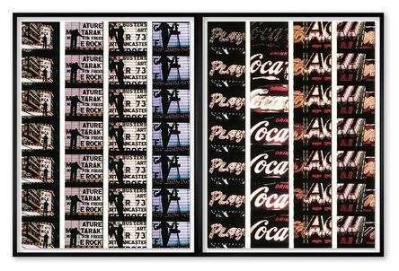 William Klein, 'Film Strips from Broadway by Light #3 & #4', 1958