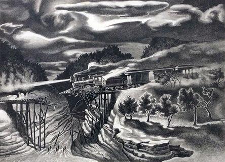 John McCrady, 'Wreck of the Ole '97', ca. 1940