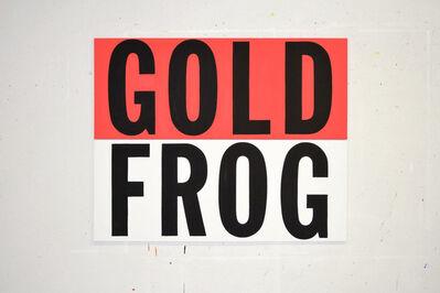 Buy Shaver, 'Gold Frog', 2014