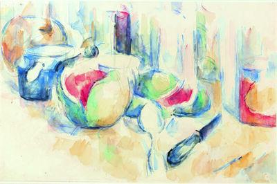 Paul Cézanne, 'Nature morte avec pastèque entamée (Still Life with Sliced Open Watermelon)', ca. 1900