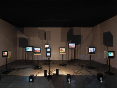 Charles Atlas, 'Joints 4tet for Ensemble, installation view, Vilma Gold', 2011