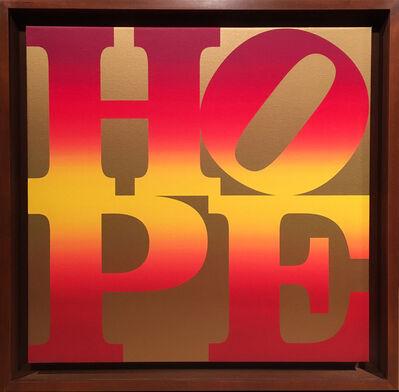 Robert Indiana, 'Autumn HOPE', 2010