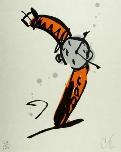 Claes Oldenburg, 'Wrist Watch Rising, from The Art Pro Choice II Print Portfolio', 1991