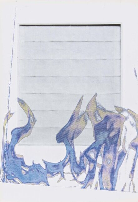 Wade Guyton, 'Untitled. Drawings for the Museum Ludwig (Catalogue of 20th Century Paintings, the Younger Generations from 1915 onwards in the Museum Ludwig by Evelyn Weiss, Cologne 1976)', 2019