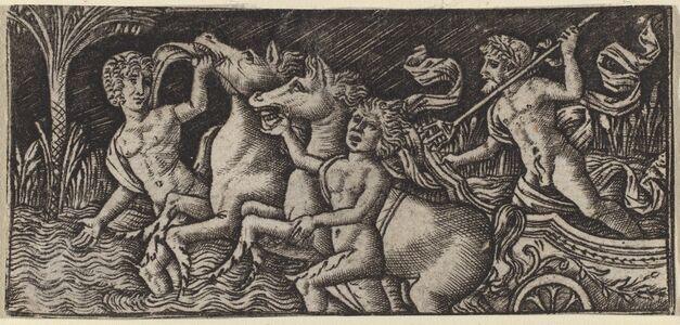Peregrino da Cesena, 'The Triumph of Neptune', ca. 1490/1510