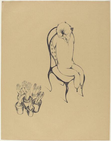 Heinrich Hoerle, 'Hällucinationen (Hallucinations)', 1920