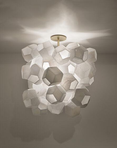 Jeff Zimmerman, 'Illuminated Faceted Cluster sculpture', 2015