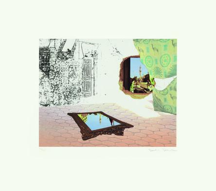Dexter Dalwood, 'The Apartment (after Delacroix) IV', 2012