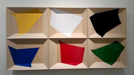 Kazumi Yoshida, 'Geometric Spill Series 1-6', 2015