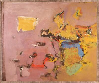 Carl Morris, 'Echoed Impact', 1959