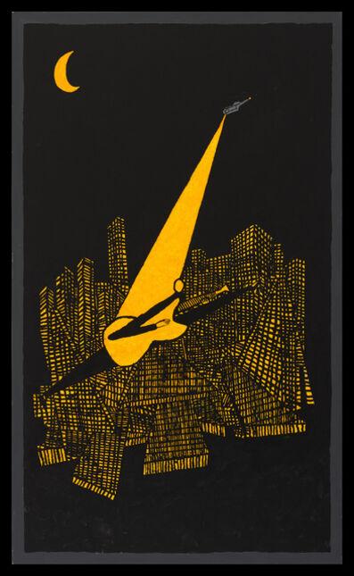 Derek Boshier, 'Night (Music City)', 2019