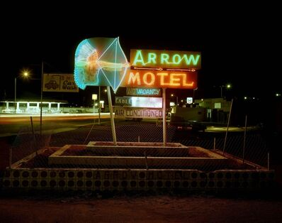 Steve Fitch, 'Arrow Motel, Highway 85, Espanola, New Mexico, March 23', 1982