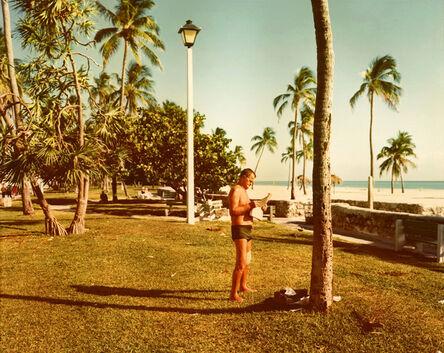 Stephen Shore, 'Miami Beach, Florida, November 13', 1977