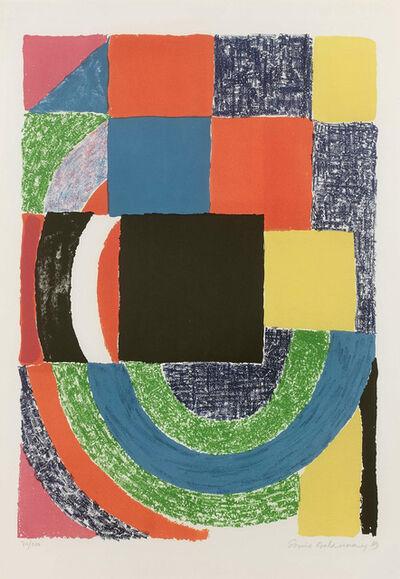 Sonia Delaunay, 'Carreau noir', 1969