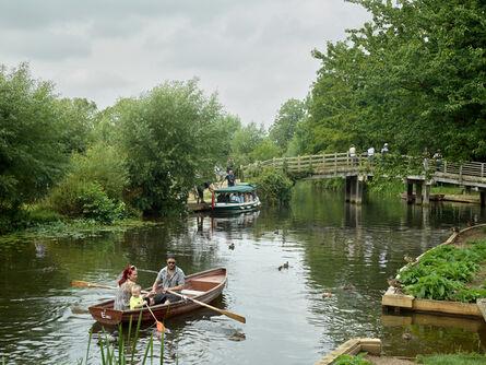 Simon Roberts, 'River Stour at Flatford, Suffolk, 20th July 2014', 2014