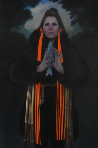 June Glasson, 'Fishwife', 2020