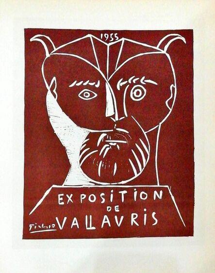 Pablo Picasso, 'Exposition De Vallauris - white left', 1959