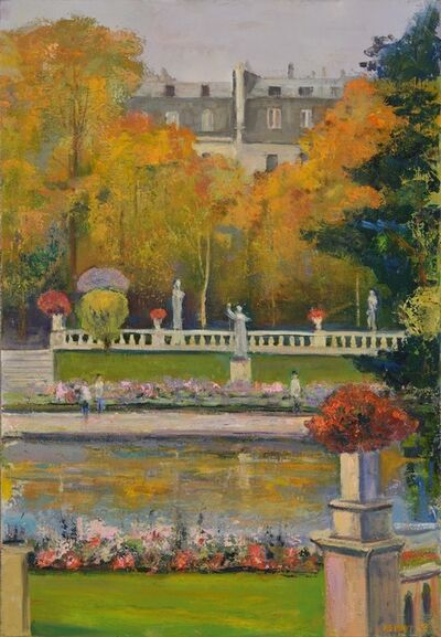 Lawrence Kelsey, 'Luxembourg Gardens #2, Diptych', 2014
