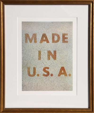 Ed Ruscha, 'America: Her Best Product (Made in USA) from the Kent Bicentennial Portfolio', 1975