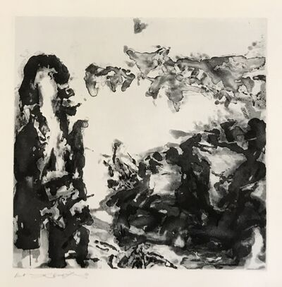 Zao Wou-Ki 趙無極, 'Éloge des choses extrêmement légères (363)', 1993