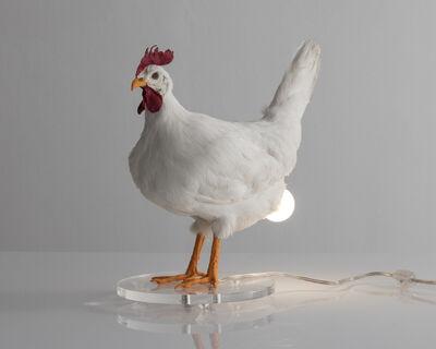 Sebastian Errazuriz, 'Chicken Lamp. Taxidermy chicken and electrical components. ', 2018
