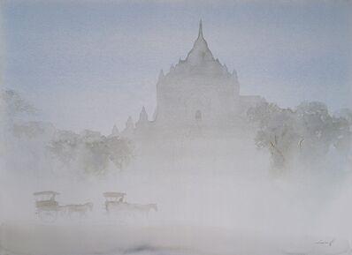 Min Wae Aung, 'Misty Morning In Bagan', 2017