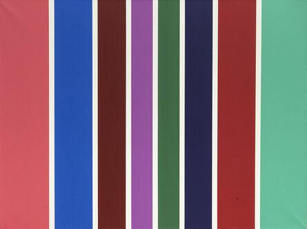 Olga Tatarintseva, 'Lines of color 4', 2011