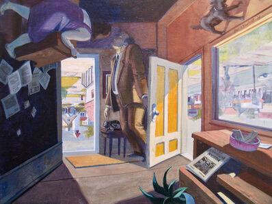 Robert Birmelin, 'The Professor's Dilemma, The Doors Series (Reversible)', 2002