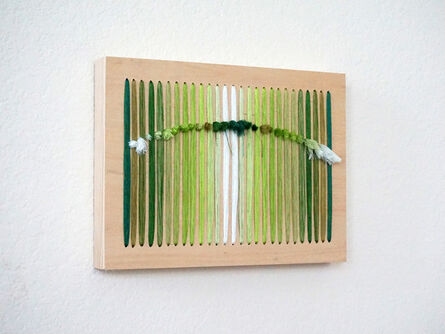 Bumin Kim, 'Accumulation (Green)', 2016